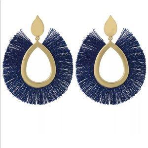 •Fully Fringed Boho• Tassel Earrings